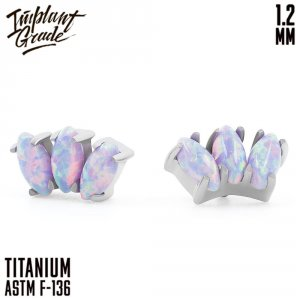 38 Opal Marquise Cluster 1.2